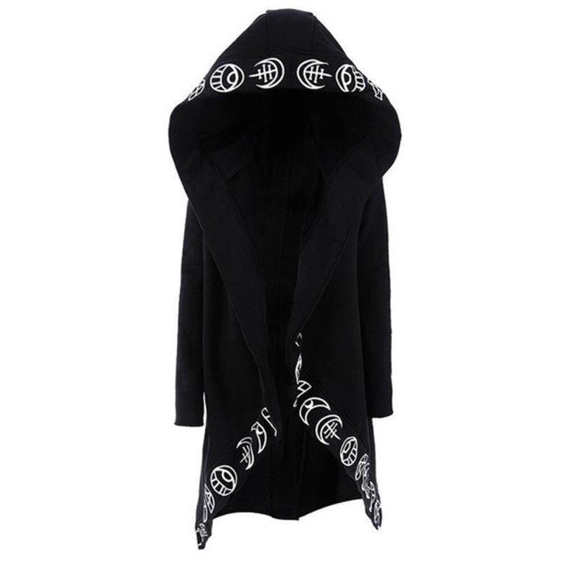 Woman Gothic Style Cardigan