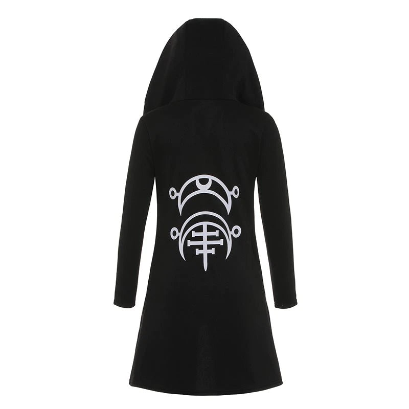 Gothic Hooded Cardigan