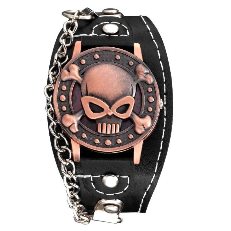 Aggressive Skull Watch