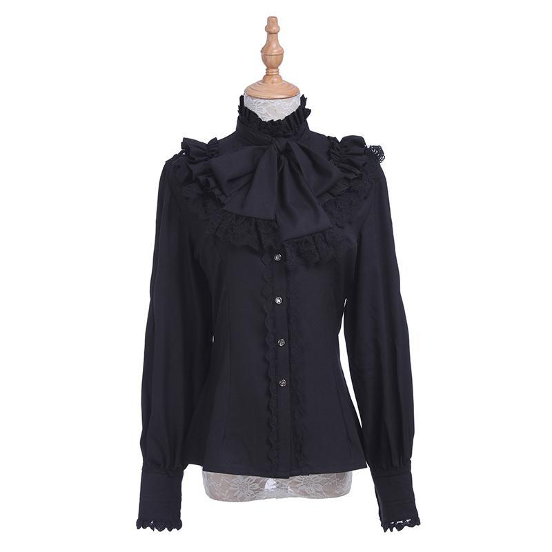 Black Shirt for Ladies