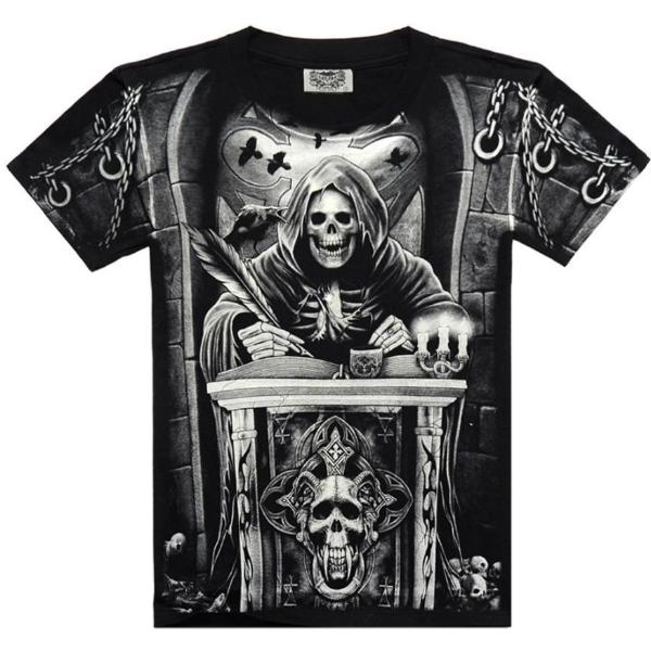 Skeleton Judge T-Shirt