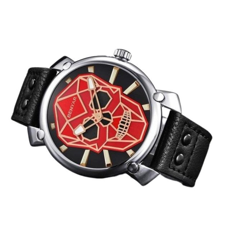 Geometric Skull Watch