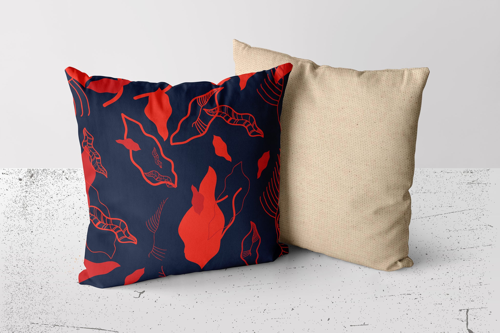 Cushion Cover - Dedaun Pride - Crimson Midnight