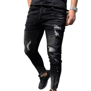 Pologize™ Ripped Black Jeans