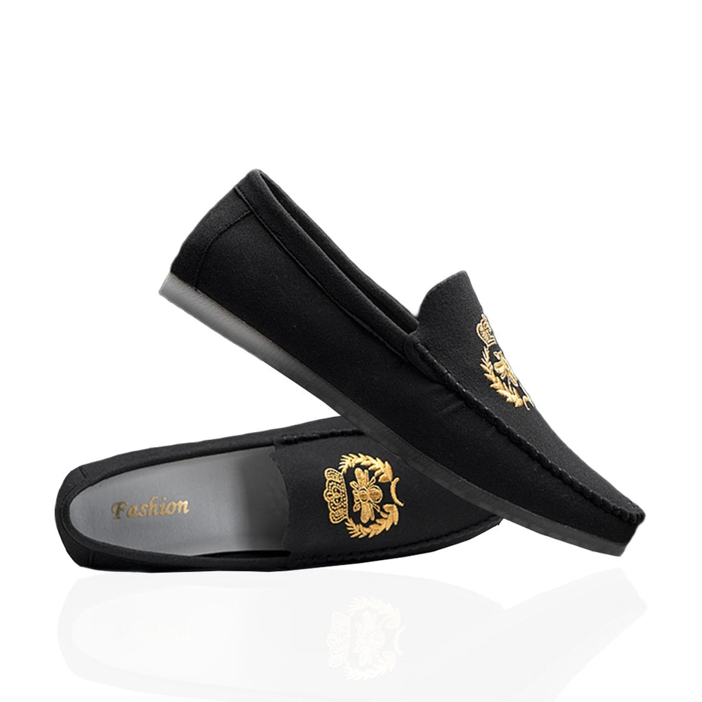 Pologize™ Embroidered Loafers