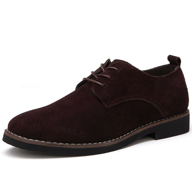 Pologize™ Suede Oxford Shoes