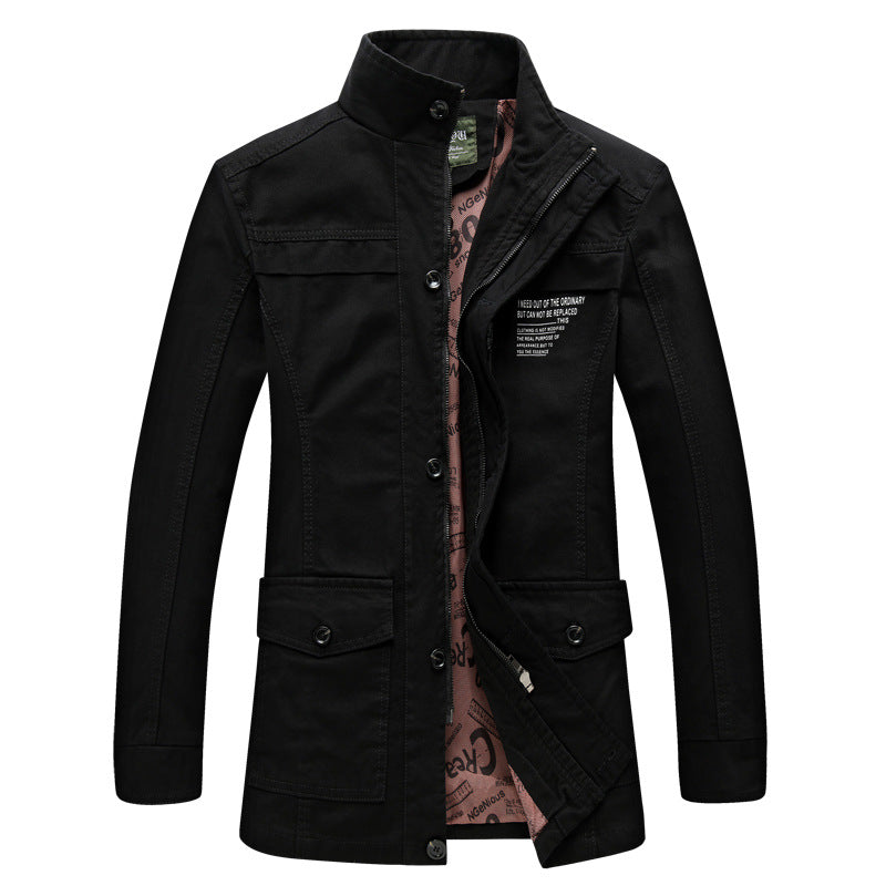 Pologize™ Casual Leather Coat