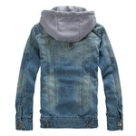 Pologize™ New Denim Style Hooded Jacket