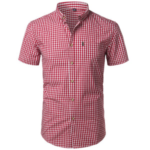 Pologize™ Checkered Button-Down Shirt