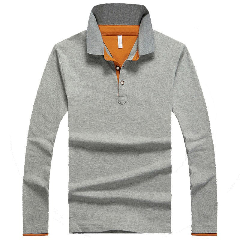 Pologize™ Long Sleeve Banded Bottom Polo Shirt