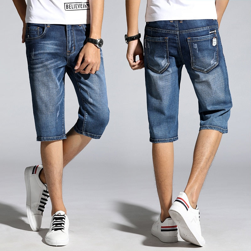 Pologize™ Casual Denim Shorts