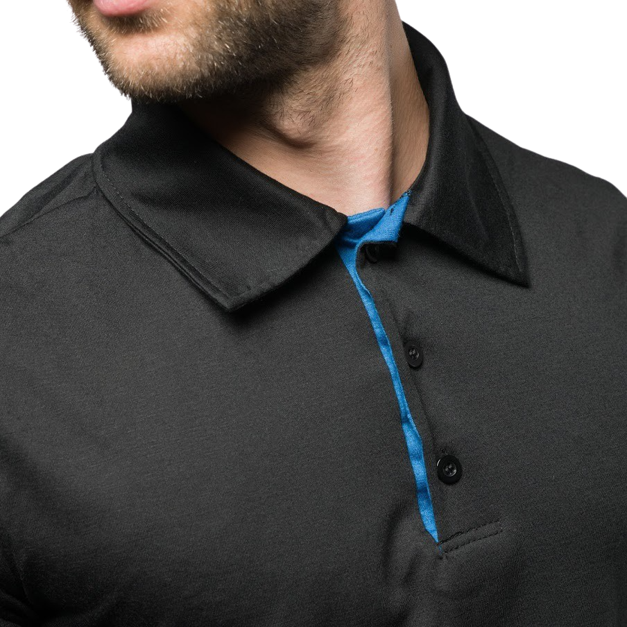 Pologize™ Contrast Color Polo Shirt