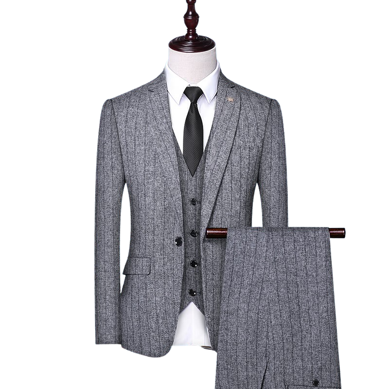 Pologize™ Striped Formal Suit