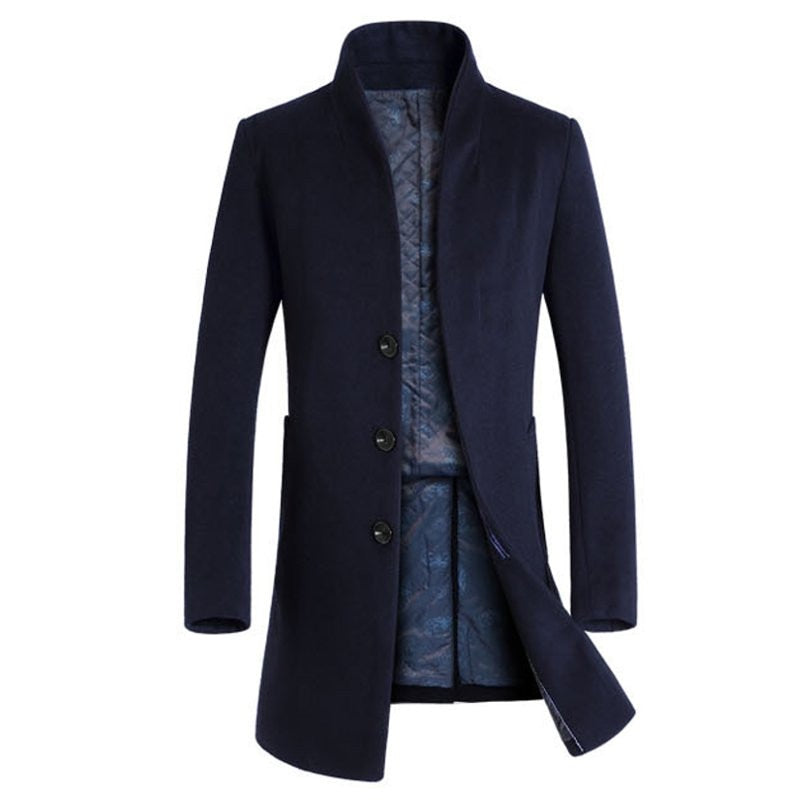 Pologize™ Slim Fit Overcoat