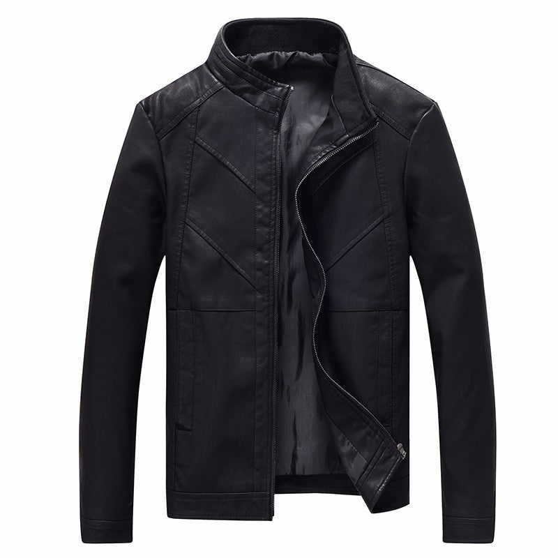 Pologize™ Faux Leather Jacket