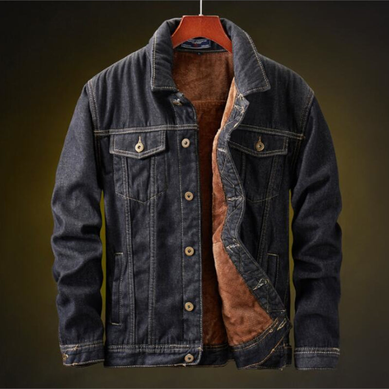 Pologize™ Classic Warm Denim Jacket