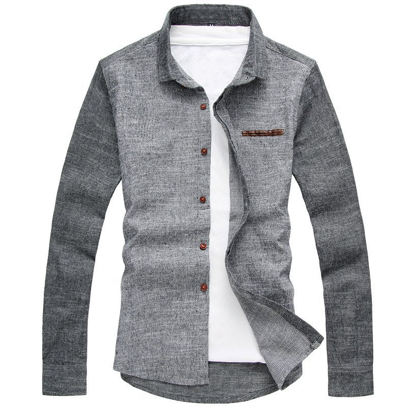 Pologize™ Light Long Sleeved Button-Down Shirt