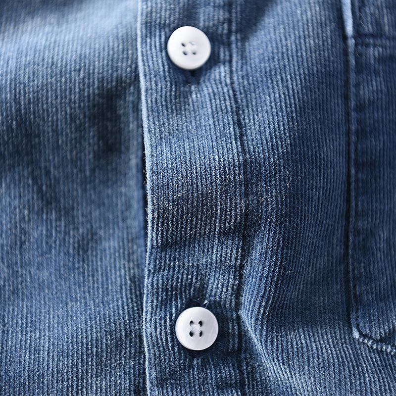 Pologize™ Corduroy Button Down Shirt