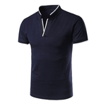 Pologize™ Stylish Stand Collar Polo Shirt