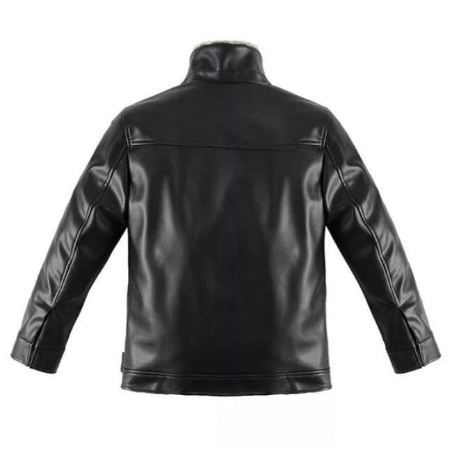 Pologize™ Basic PU Leather Jacket