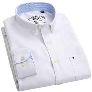Pologize™ Solid Regular Fit Button-Down Shirt