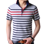 Pologize™ Classic Striped Polo Shirt