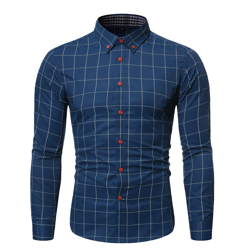 Pologize™ Fashionable Checkered Button Shirt