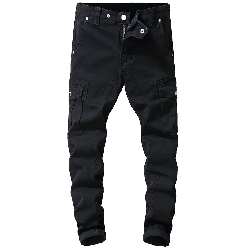 Pologize™ Black Cargo Jeans