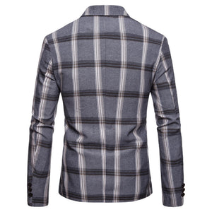 Pologize™ Plaid Modern Fit Blazer