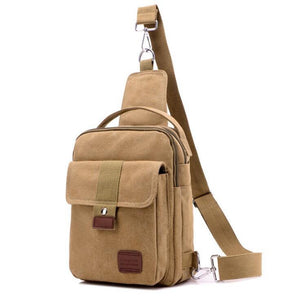 Pologize™ Canvas Crossbody Bag