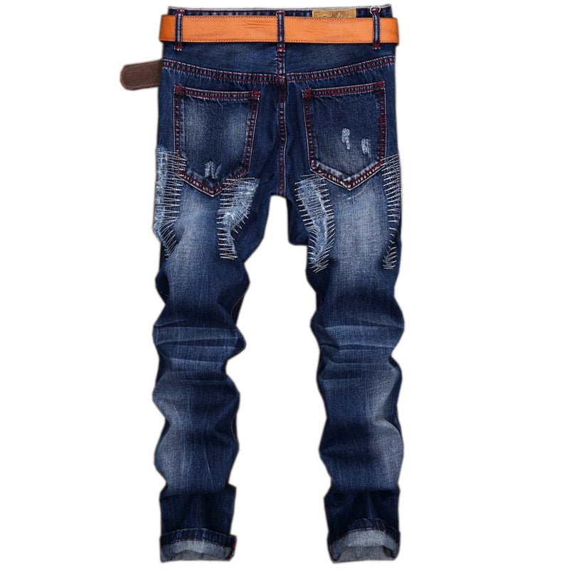 Pologize™ Ripped Straight Jeans
