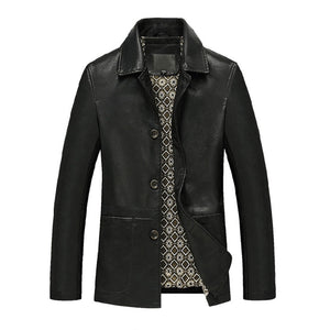 Pologize™ Split Leather Jacket