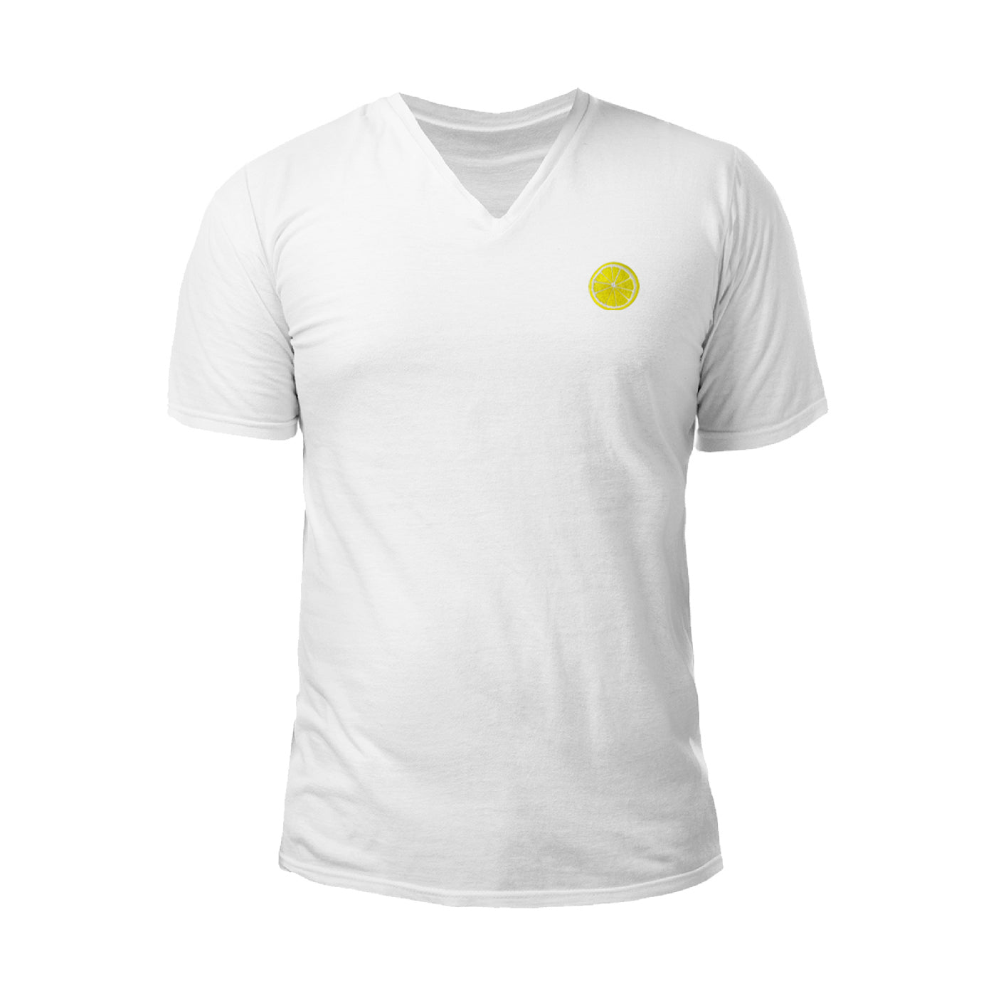 Pologize™ Citron Embroidered V-Neck T-Shirt