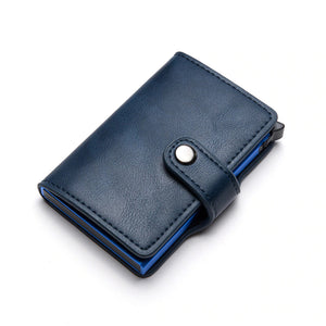 Pologize™ Leather Card Holder Wallet
