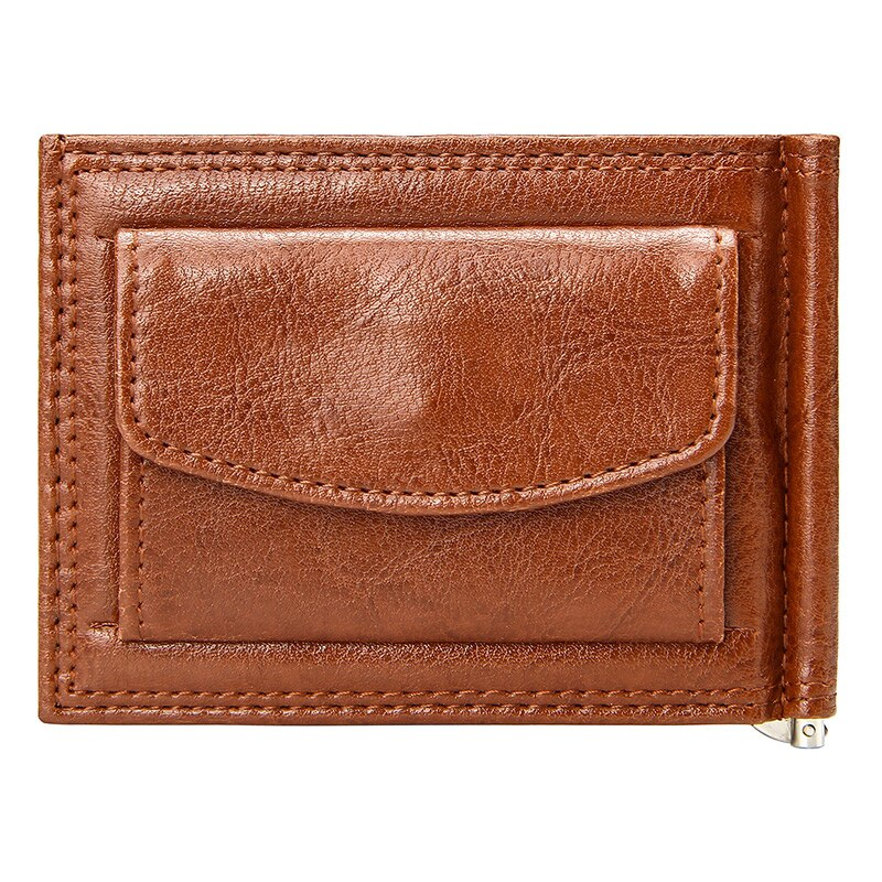 Pologize™ Leather Wallet With Money Clip