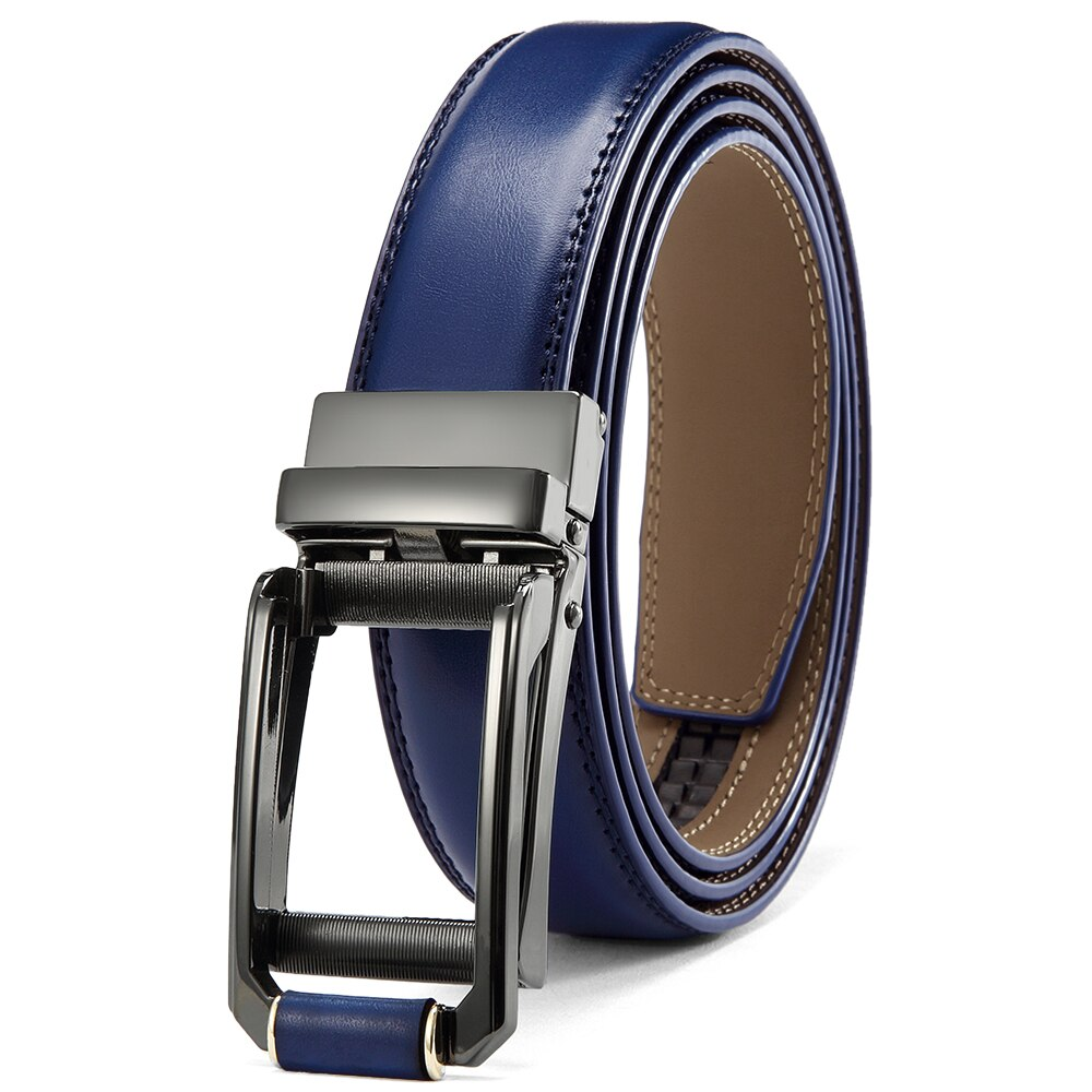 Pologize™ Metal Buckle Leather Belt