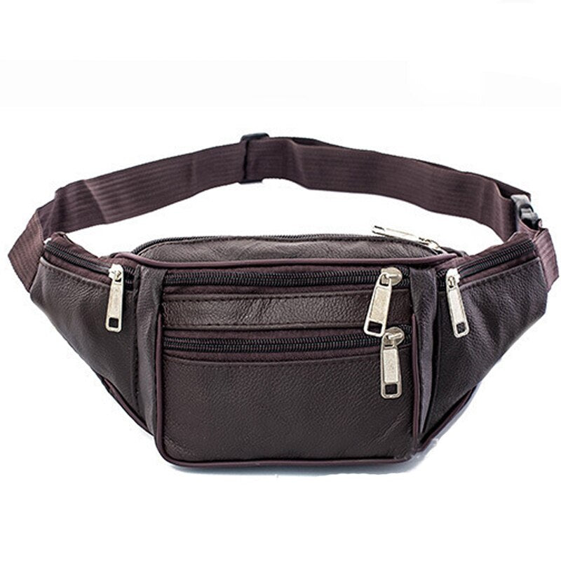 Pologize™ Leather Waist Bag