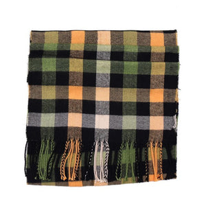 Pologize™ Stylish Plaid Scarf