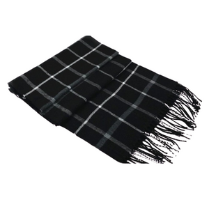 Pologize™ Wool Plaid Scarf