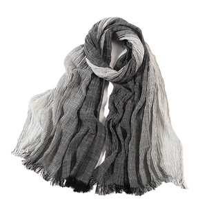 Pologize™ Elegant Long Cotton Scarf