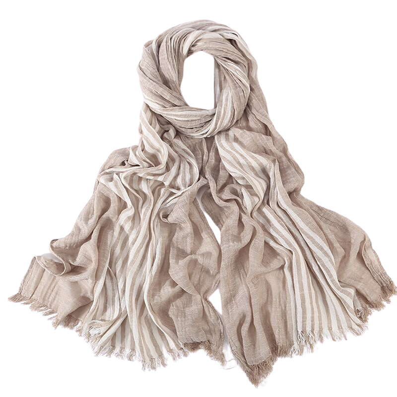Pologize™ Long Striped Scarf