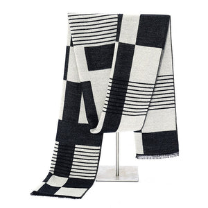 Pologize™ Striped Design Scarf