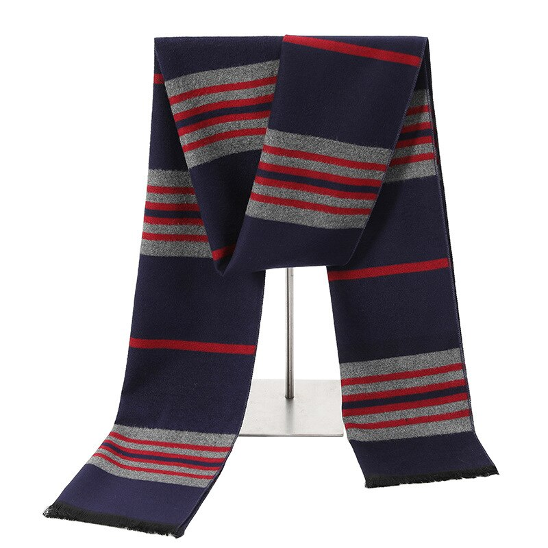 Pologize™ Casual Striped Scarf