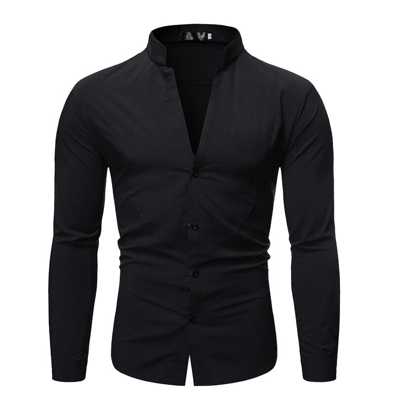 Pologize™ Slim Fit V-Neck Shirt