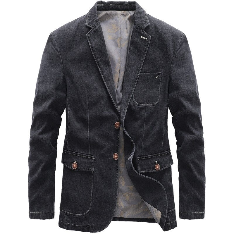 Pologize™ Outdoor Denim Jacket