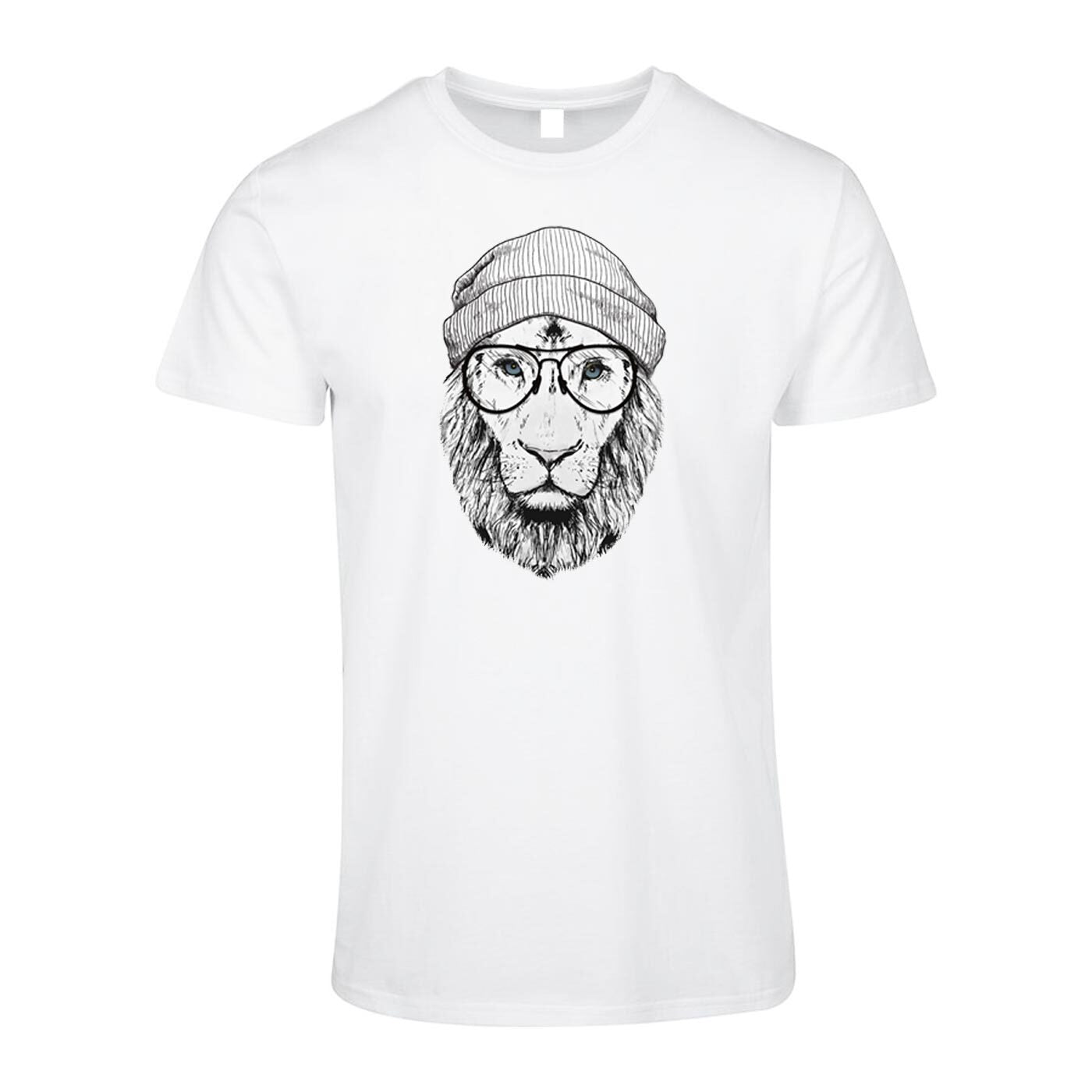 Pologize™ Cool Lion Design T Shirt