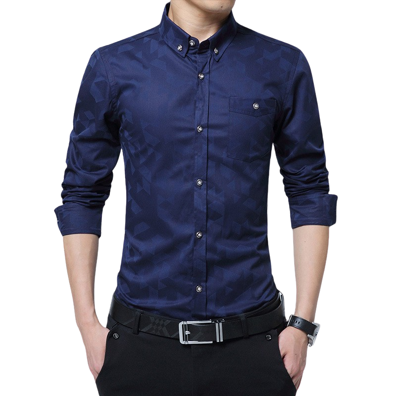 Pologize™ One Pocket Button Shirt