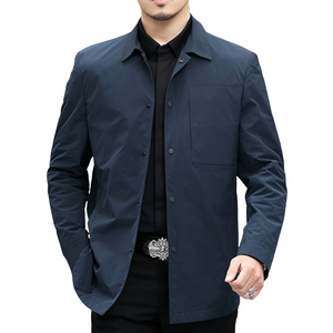 Pologize™ Buttoned Slim Fit Jacket