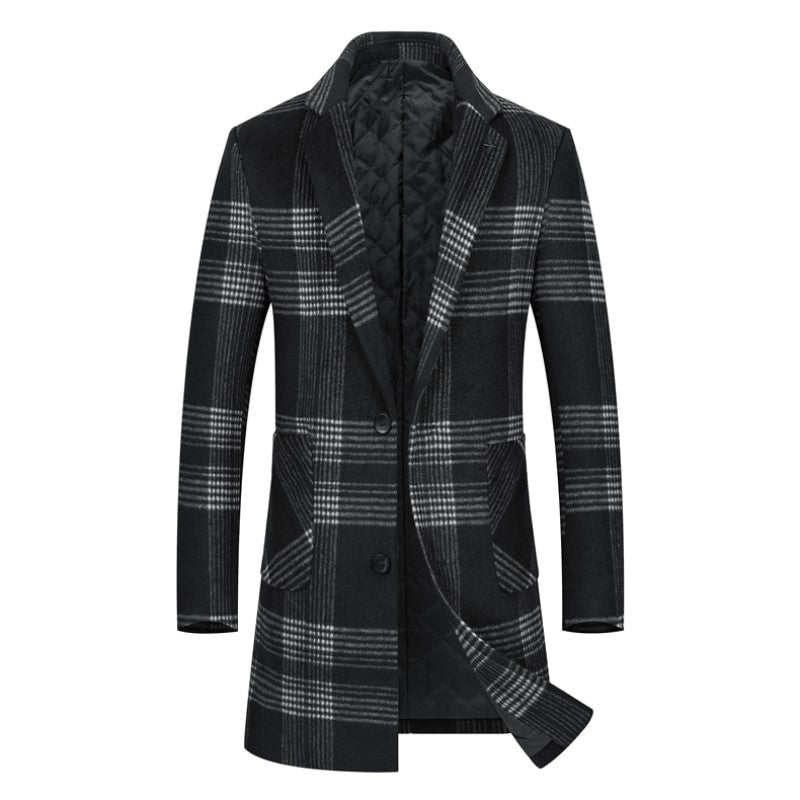 Pologize™ Long Plaid Coat