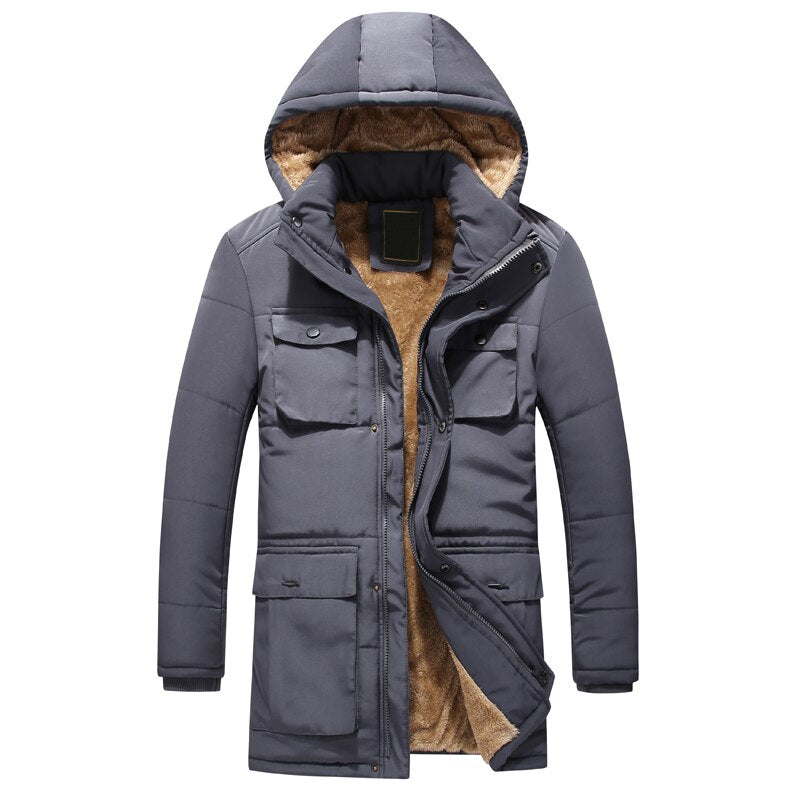 Pologize™ Urban Warm Long Coat